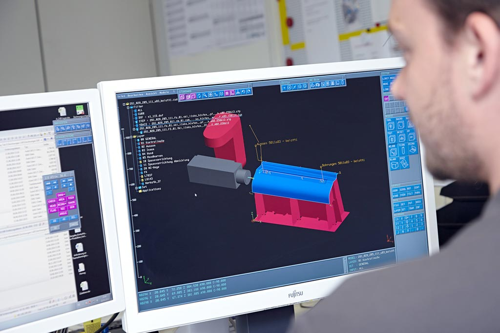 Computer-supported 3D design with drawings