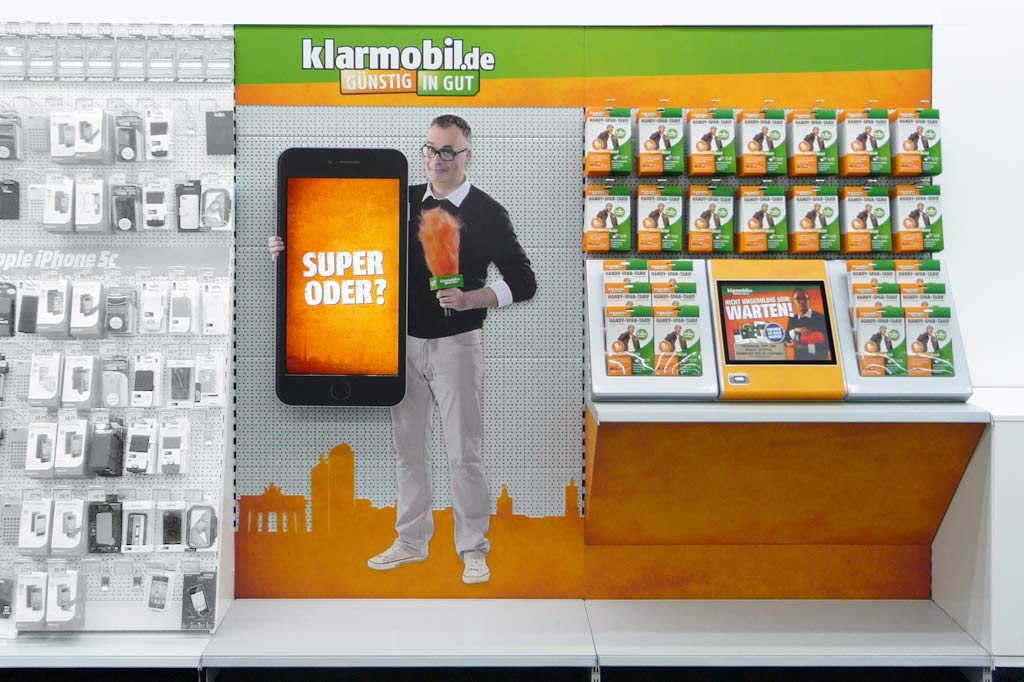 With 2D Figure, as well as an interactive screen for information and sales optimization